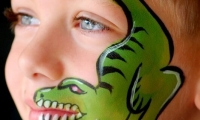 dinossauro-pintura-facial