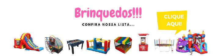 Aluguel de Brinquedos Para Festa