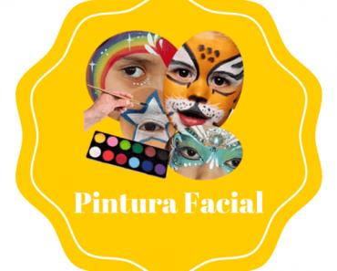 Pintura facial para festa e aniversários