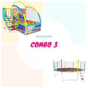 combo3 - Tombo Legal + Cama elástica 2,44 metros