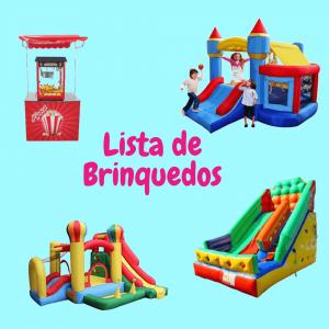 Lista de Brinquedos